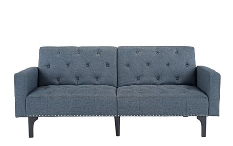 Mid Sleeper With Sofa Bed by Grey Fabric Futon Sofa Bed Sofa Beds Futons Pull