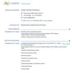 scarica curriculum vitae europeo da compilare gratis pdf curriculum vitae europass download gratis newhairstylesformen2014 com