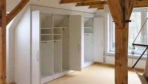 Möbel Dachschräge Ikea : m bel schr nke regale f r die dachschr ge ma arbeit in schr gen ip20 closet pinterest ~ Michelbontemps.com Haus und Dekorationen