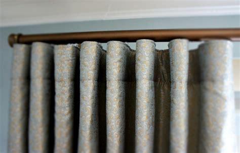 Traverse Rod Curtain Ideas by Faye Fortune Drapery Pleats