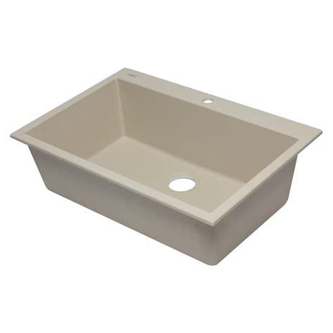kitchen sink brand alfi brand drop in granite composite 33 in 1 single 2593