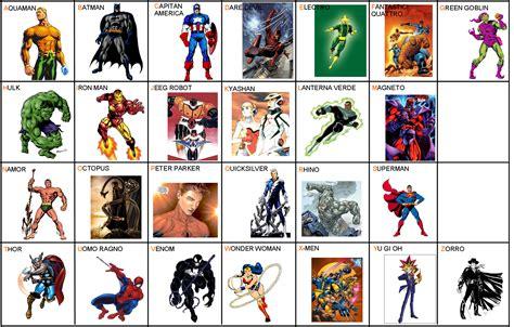tombola dei supereroi fattodateorg