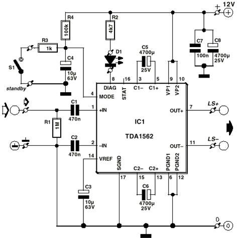 elektronik devre semalari amfi devreleri