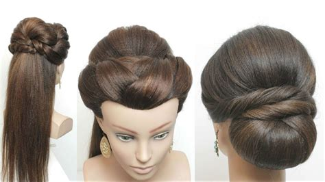 easy party hairstyles  long hair youtube