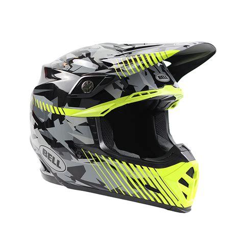 camo motocross bell new 2017 mx moto 9 dirt bike moto 9 grey yellow camo