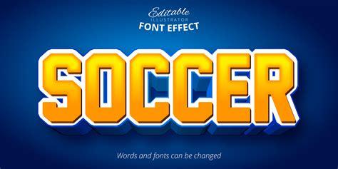 Soccer Sports Font Effect 963992 - Download Free Vectors ...