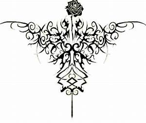 Tumblr Tribal Rose Tattoo Design 2015