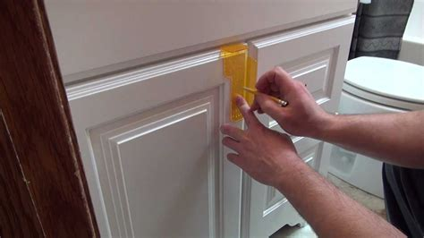 template for installing cabinet handles installing cabinet hardware youtube