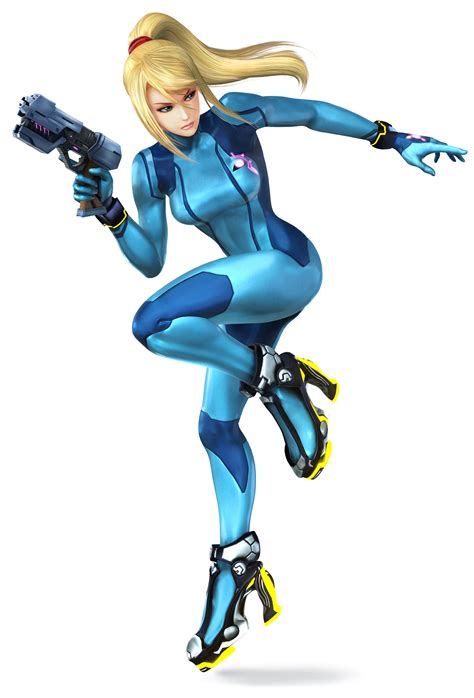 Samus Aran From The Metroid Series