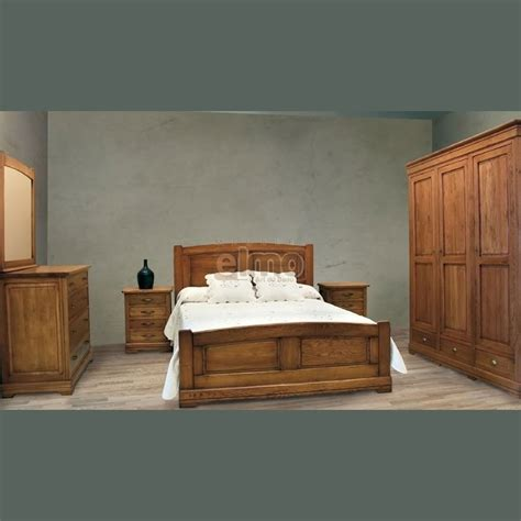 refaire chambre adulte chambre adulte complète chêne massif rustique rustic