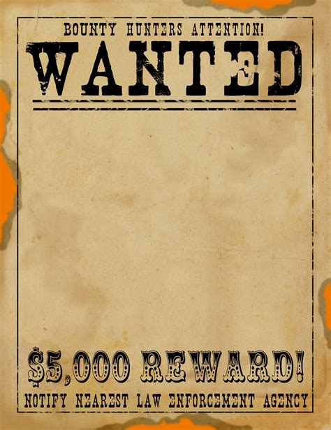 blank wanted poster teknoswitch