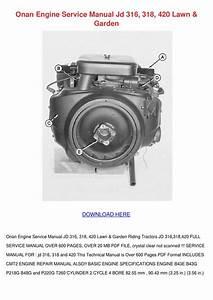 Onan P220g Service Manual Pdf