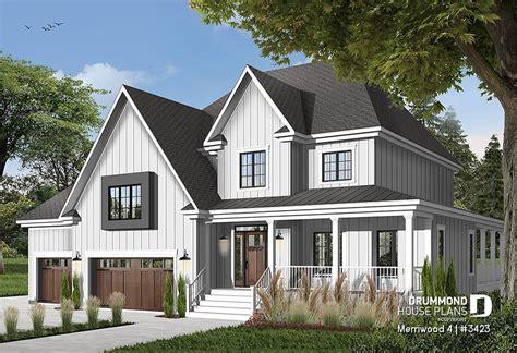 House plan 4 bedrooms 2 5 bathrooms garage 3423