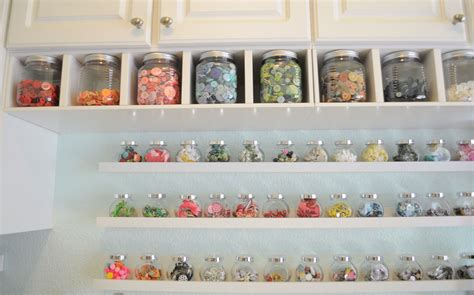 Craft Space Decor And Storage Ideas