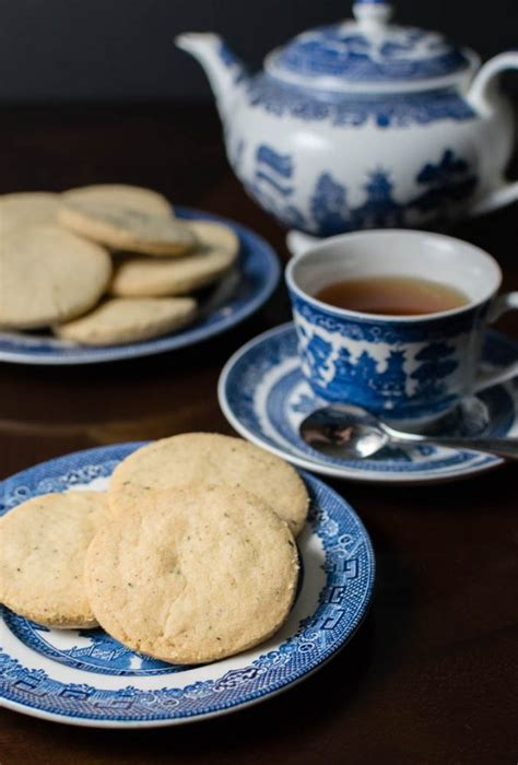 Tea Leaf Shortbread Cookies A Get Out Inspired Recipe