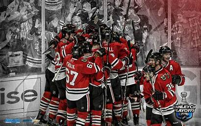Blackhawks Chicago Goal Background Desktop Wallpapers Stanley