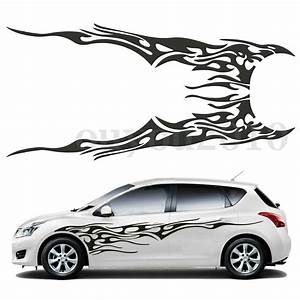 pair 833939 x 193939 car decal vinyl graphics two side With lettering decals for vehicles