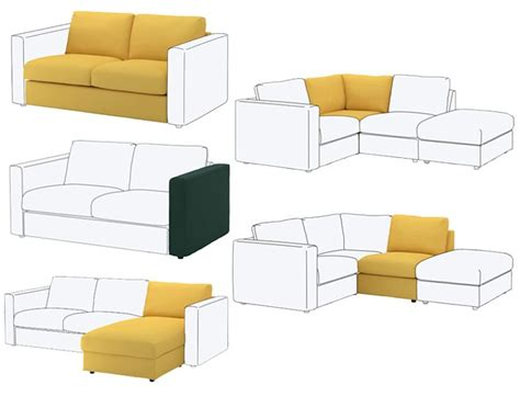 dessus de canape ikea 89 best canap 233 s ikea images on ikea and benches