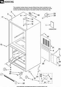 Maytag Refrigerator Mbr2256kes12 User Guide