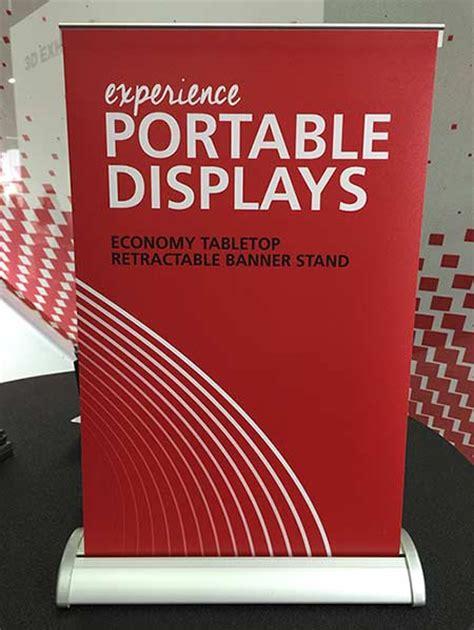 breeze retractable tabletop banner stands tabletop sign