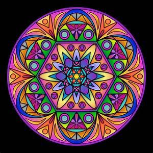 Mandalas de colores hermosos para descargar e imprimir Información imágenes