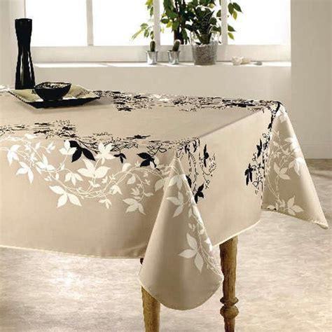nappe de cuisine rectangulaire nappe rectangulaire l240 cm talia beige nappe de table