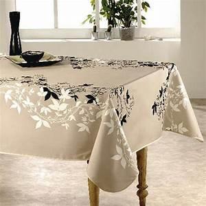Nappe De Table Rectangulaire : nappe rectangulaire l240 cm talia beige nappe de table eminza ~ Teatrodelosmanantiales.com Idées de Décoration