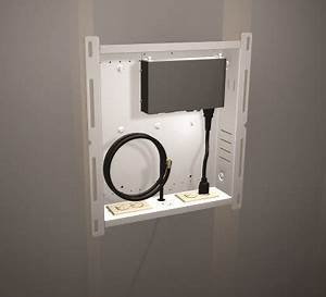 Hidden Cable Box Wall Mount | Hiding Cables When Mounting ...