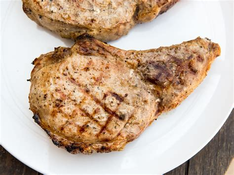 grilled pork chops the best juicy grilled pork chops recipe serious eats
