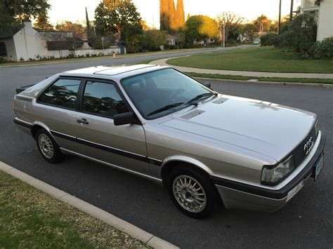 Amazing 1985 Audi Gt Coupe For Sale In Covina California