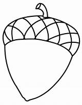 Acorn Coloring Pages Leaf Acorns Oak Printable Fruit Sheets Leaves Fall Clipart Drawing Colouring Sheet Squirrel Autumn Adults Brilliant Stunning sketch template