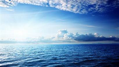 Sky 4k Ocean Sea Clouds 5k Nature