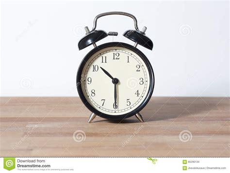 It Is Half Past Ten O`clock Stock Photo