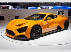 2009 Zenvo ST1 Images, Specifications and Information