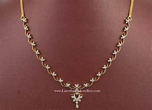Simple Indian Diamond Necklace Designs | Jewelry ...