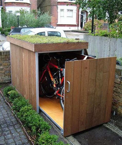 Storage For Backyard by 24 Practical Diy Storage Solutions For Your Garden And Yard