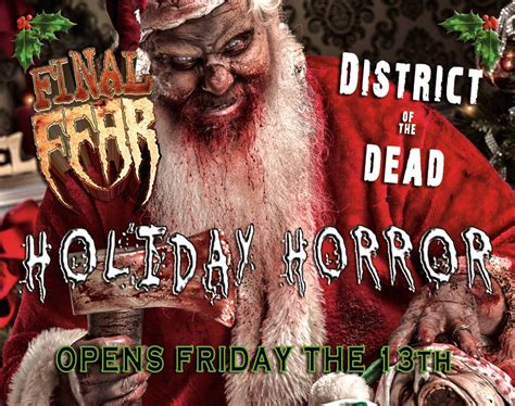 Haunted Attractions In Pa And Nj by Behind The Thrills Holiday Fear Haunted Attractions
