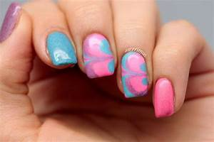 Clear Nail Designs With Flowers Pretty Neon Nail Art Designs For Your Inspiration Noted List