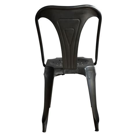 chaise métal industriel chaise en métal style vintage industriel patinée