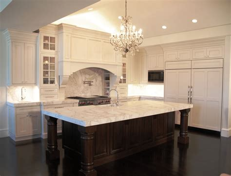 white kitchen wood island white wooden kitchen cabinet with white marble counter top plus stove and brown wooden kitchen