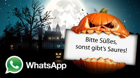 whatsapp halloween sprueche zum grinsen und gruseln
