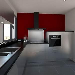 cuisine design tout inox meubles fond de hotte evier de With location de meubles et accessoires