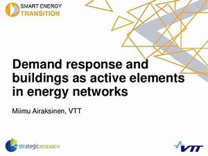 Miimu Airaksinen - Demand response and buildings as active ...
