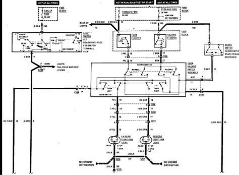 Hummer H3 Turn Signal Wiring Diagram by I A 1985 El Camino And My Turn Signal Suddenly Stop