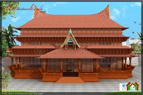 big houses floor plans traditional kerala style house plan you will it
