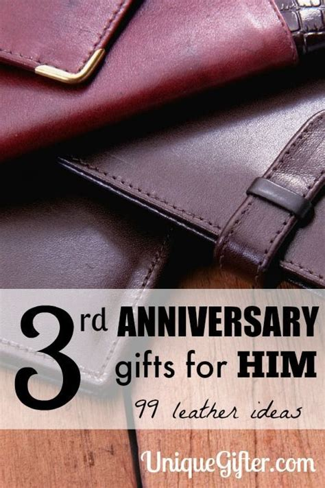 3rd anniversary gift ideas for 3rd wedding anniversary gift ideas for men inspiration