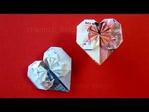 Geschenk Verpacken Schleife : geldscheine falten herz geldgeschenke hochzeit basteln geld falten herz diy origami ~ Orissabook.com Haus und Dekorationen