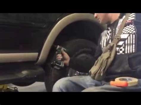 Fender flare removal expedition/f150 - YouTube