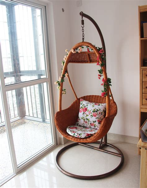 outdoor wicker chair swing rattan basket rattan indoor