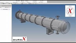 Tubular Heat Exchanger in Autodesk Inventor- U Tubes ...